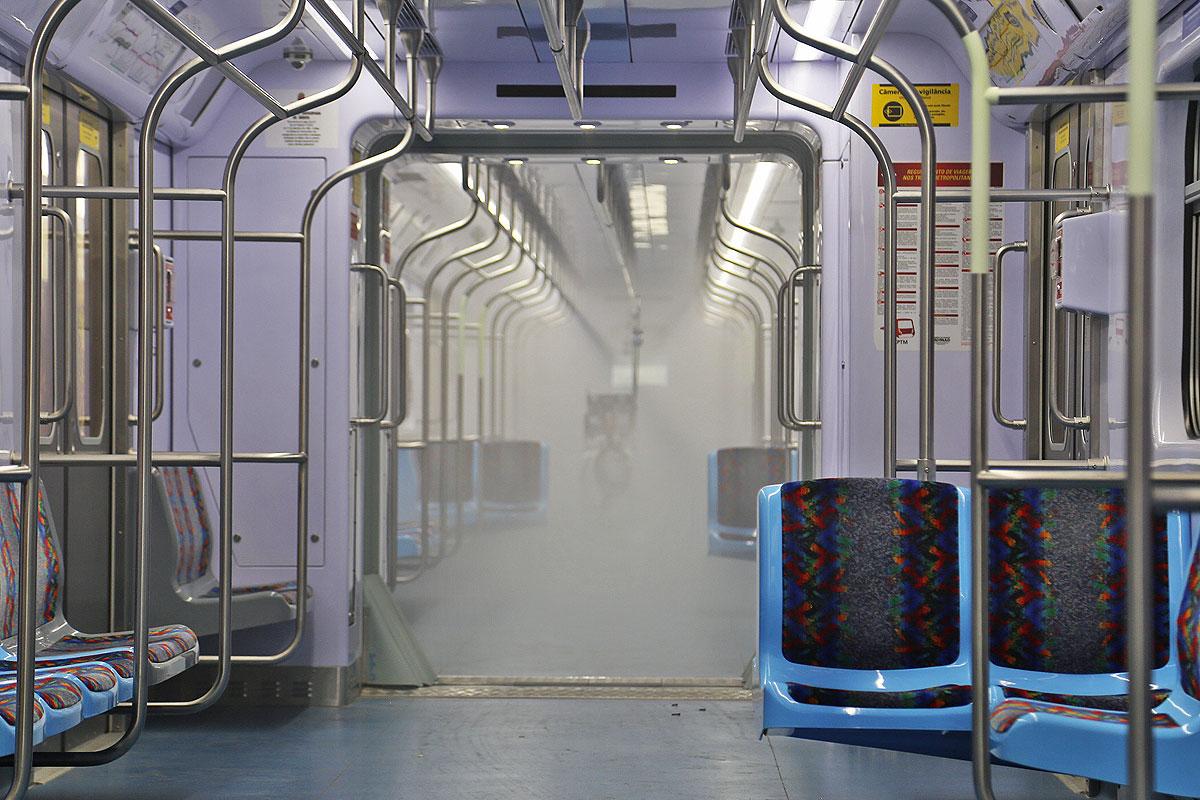 desinfecção bioguard metrô