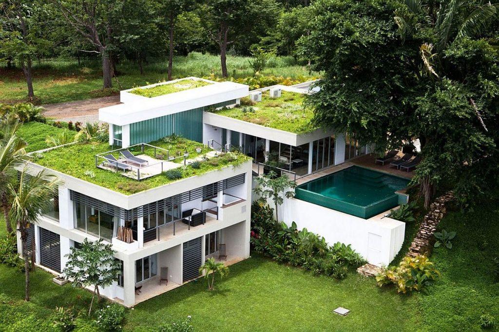 exemplo de construção de residência feita a partir de engenharia verde