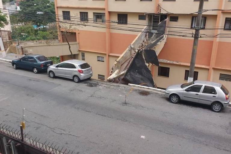 Desabamento Parcial Vila Mariana SP