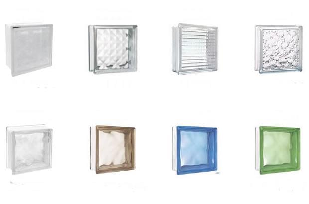 tipos de blocos de vidro construção