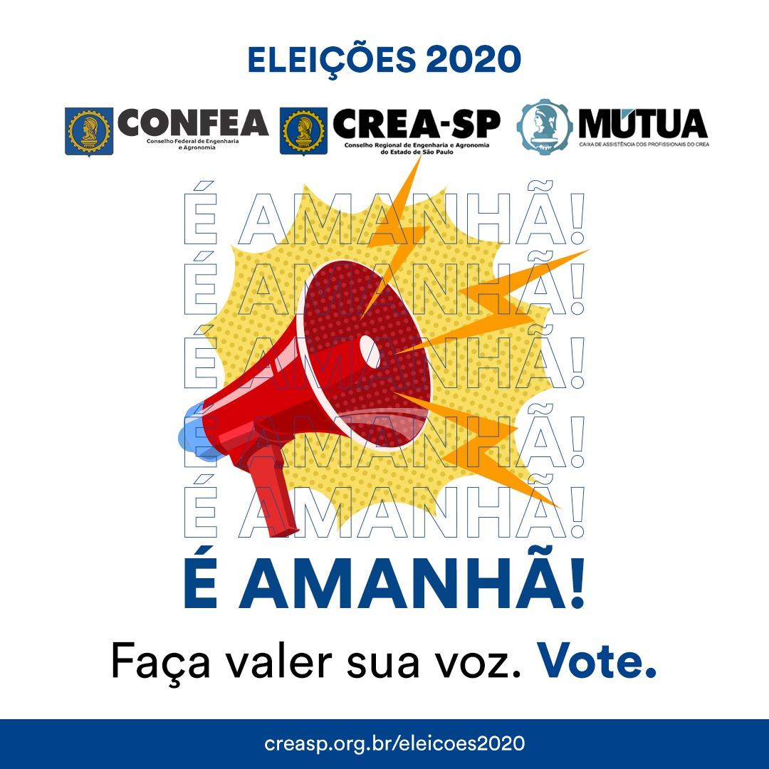 banner eleições confea crea mútua