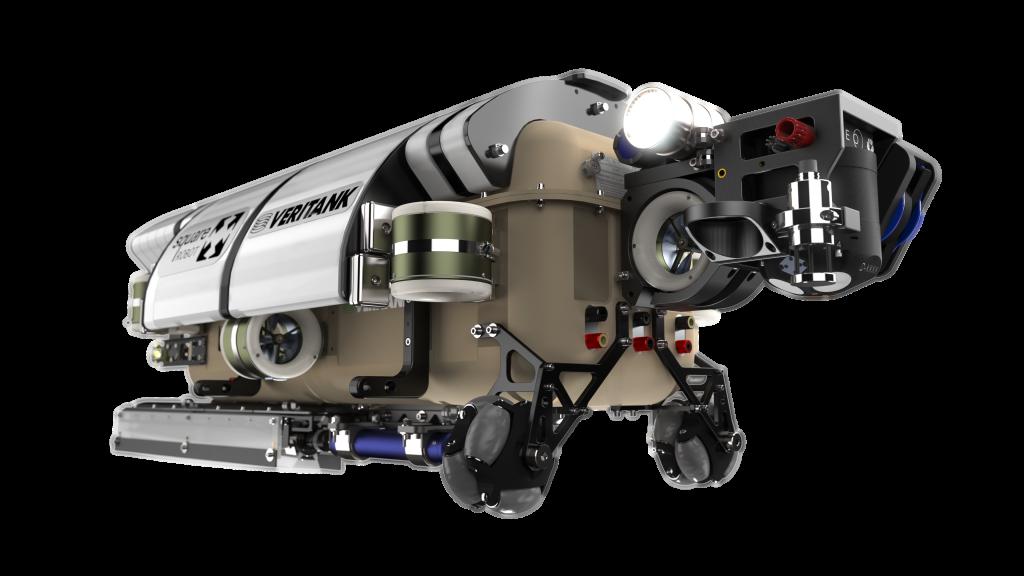 robô ilustrativo projetado com solidworks 2021