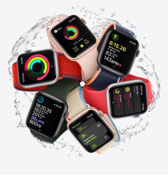 imagem do Apple Watch SE