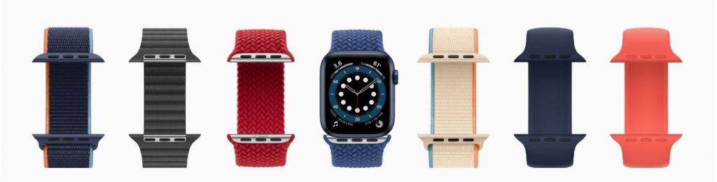 cores pulseiras apple watch 6