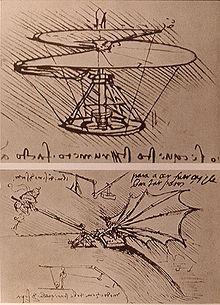 Desenho Leonardo da Vinci