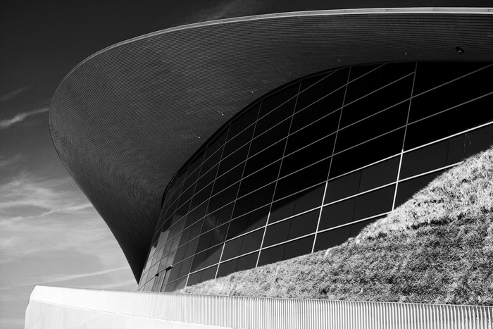 Centro Aquático de Londres 2012 , projetado por Zaha Hadid