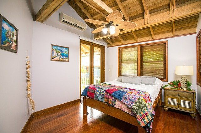 Decoração praiana  ilustrando design de interiores