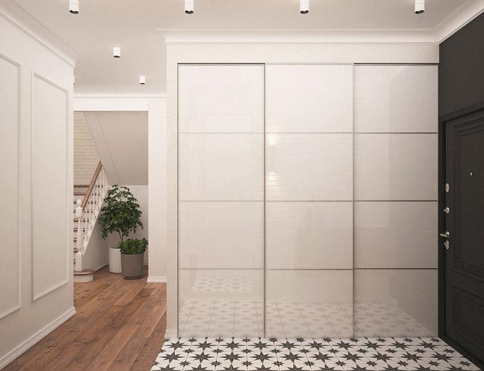 Novo modelo de layout de residências com hall de entrada mais espaçoso. decoracao-tendencias-de-design-de-interiores