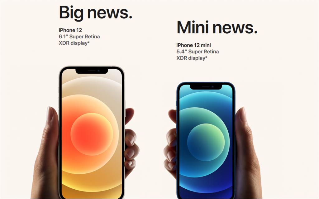 IPhone 12 e Mini