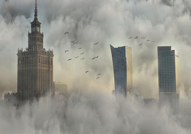 Edifícios arranha-céus imagem ilustrativa