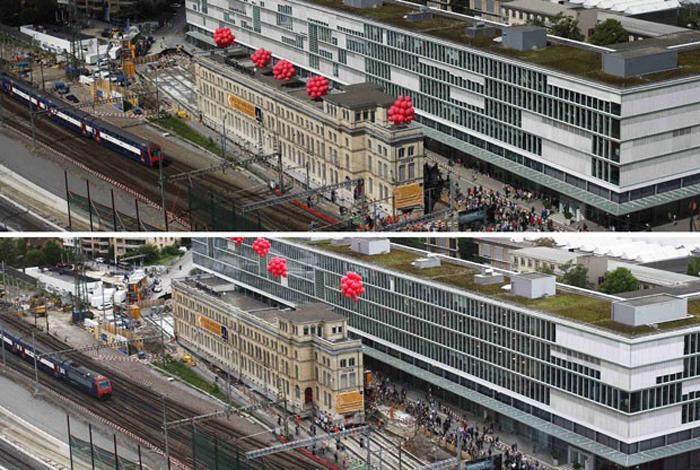 Maschinenfabrik Oerlikon, na Suíça , em movimentação