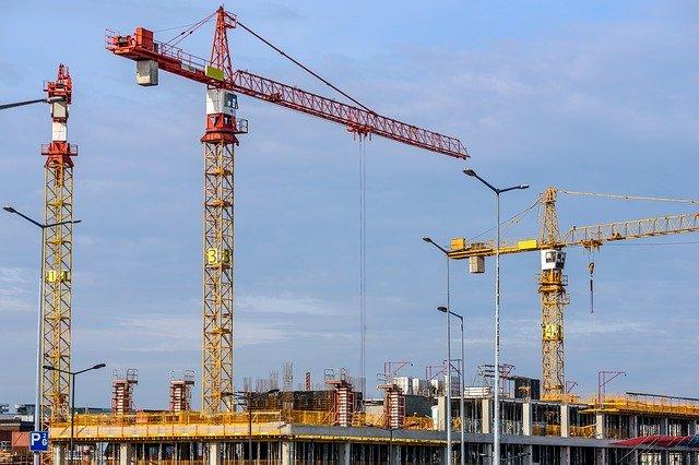 Imagem ilustrativa de tecnologias avançadas plicadas à construção de edifícios.