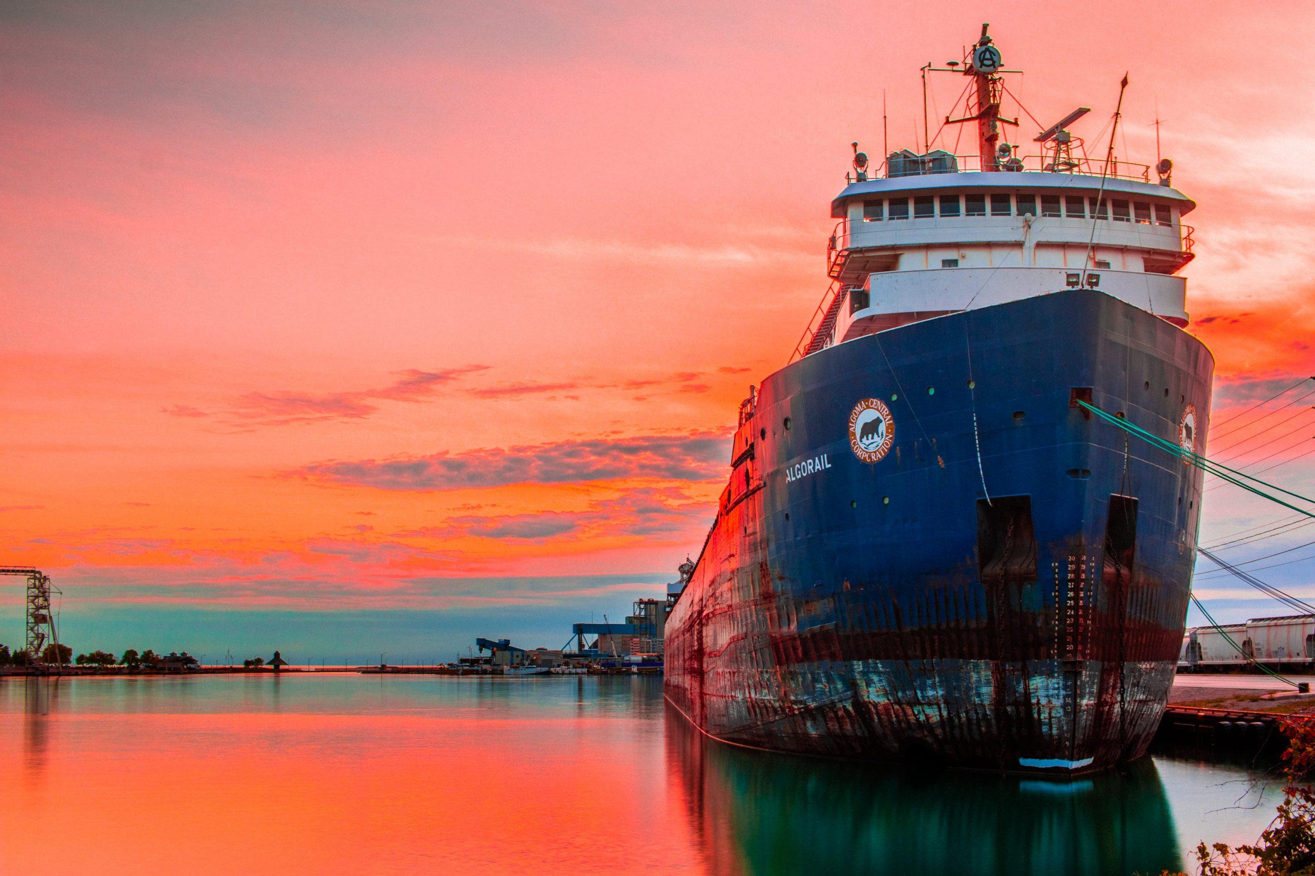 Mudança em regra de combustíveis marítimos beneficia o meio ambiente