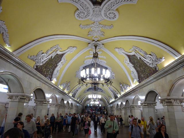 Estação Komsomlskaya, Moscou