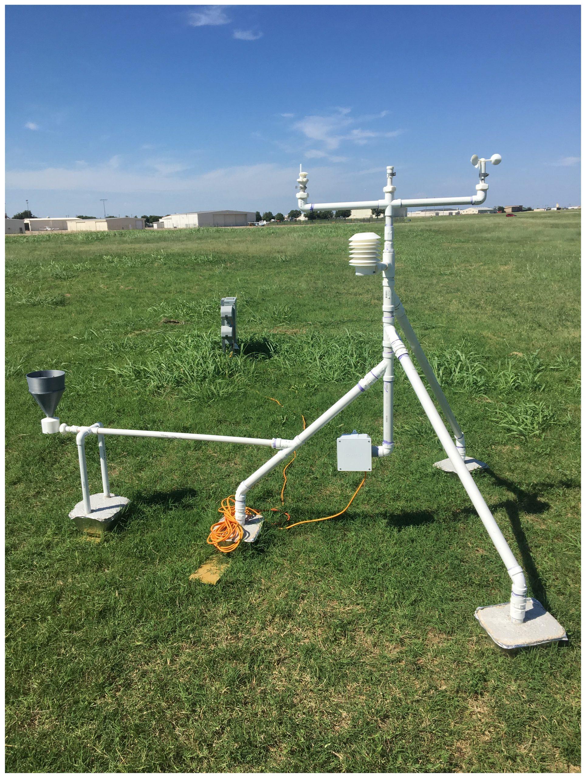 estação meteorológica impressa em 3D