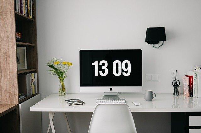 home office imagem ilustrativa de escritório
