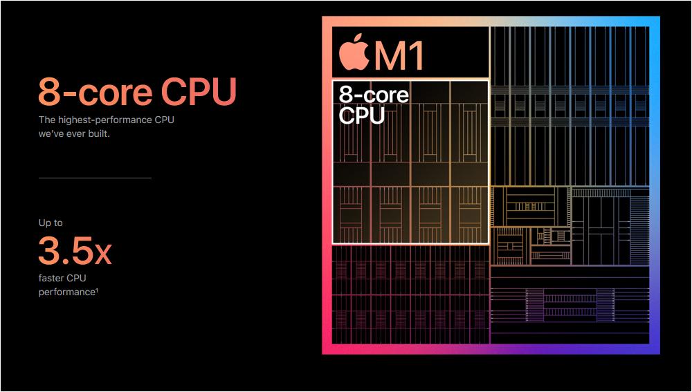novo chip M1 ARM da Apple