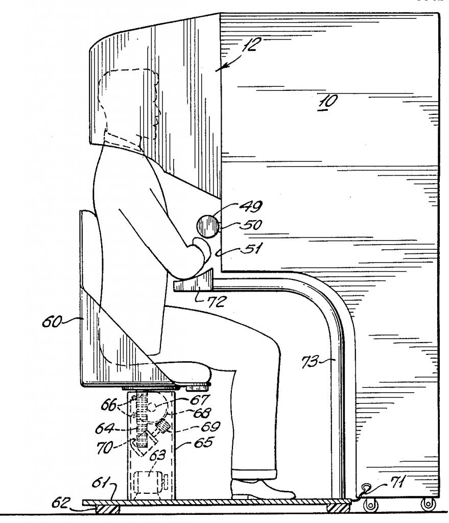 realidade aumentada ilustração de homem sentado em cadeira