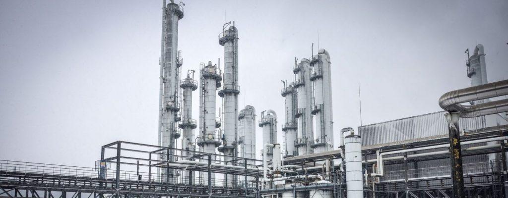 imagem ilustrativa de usina sucroenergética