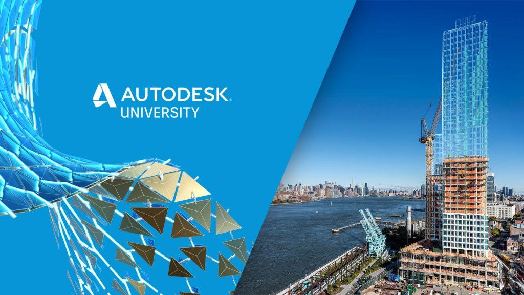 imagem ilustrativa e banner do autodesk university 2020