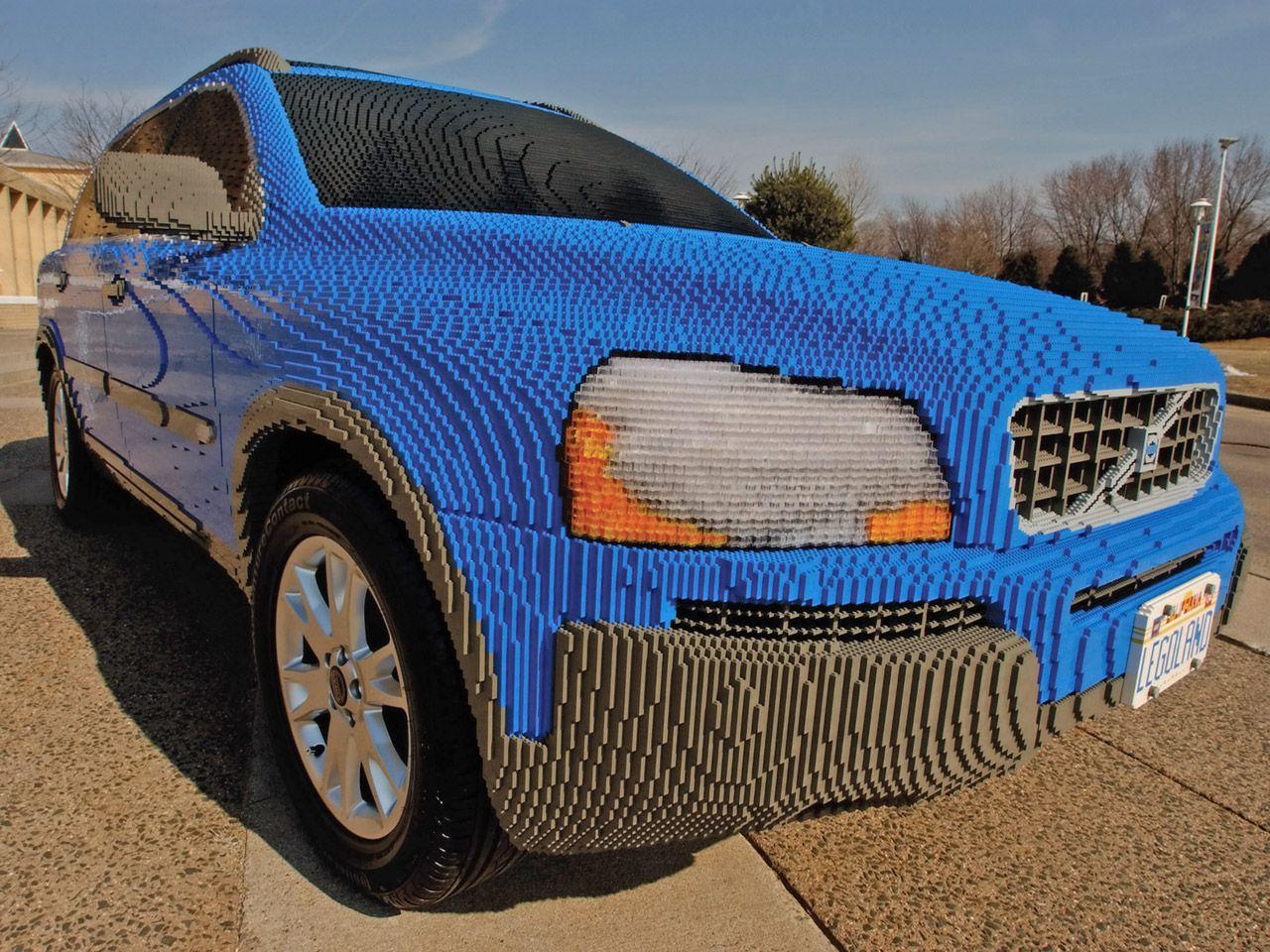 volvo azul de lego