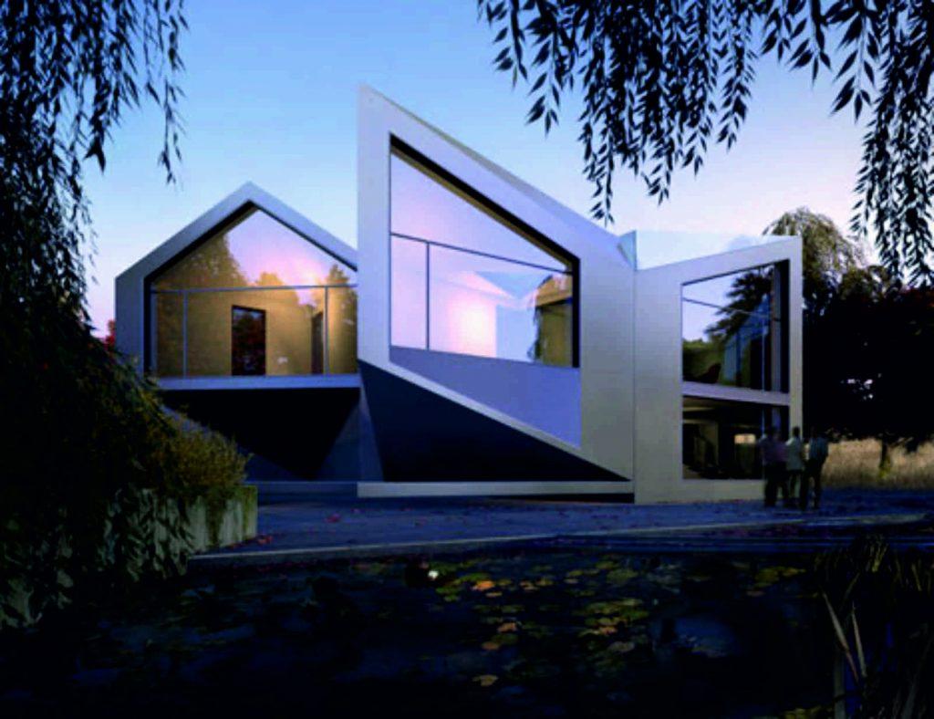 D*Haus, de David Bem Grünberg e Daniel Woolfson, inspirada em origami