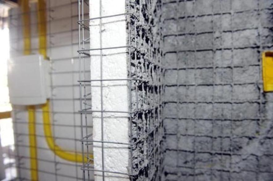 placa de Isopor em construção civil