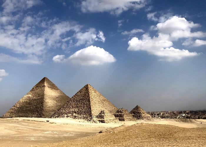 imagem de Pirâmides egípcias