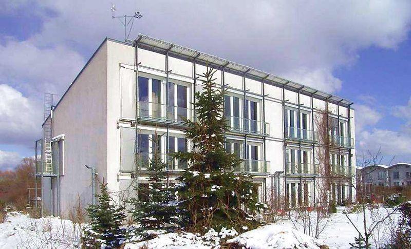 imagem ilustrativa de construção sustentável