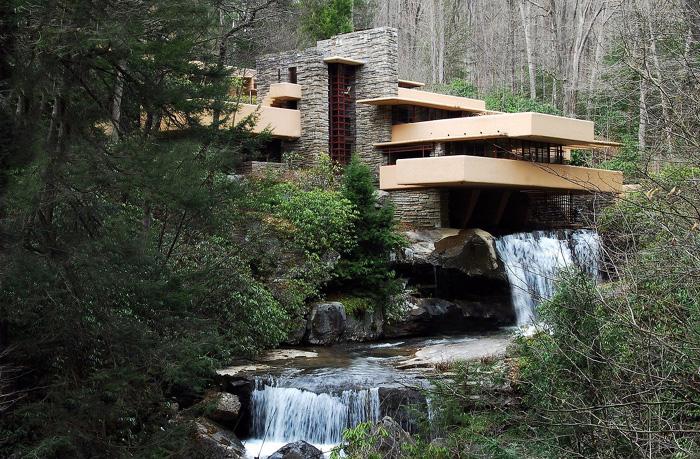 Casa da Cascata, do Arq. Frank Lloyd Wright