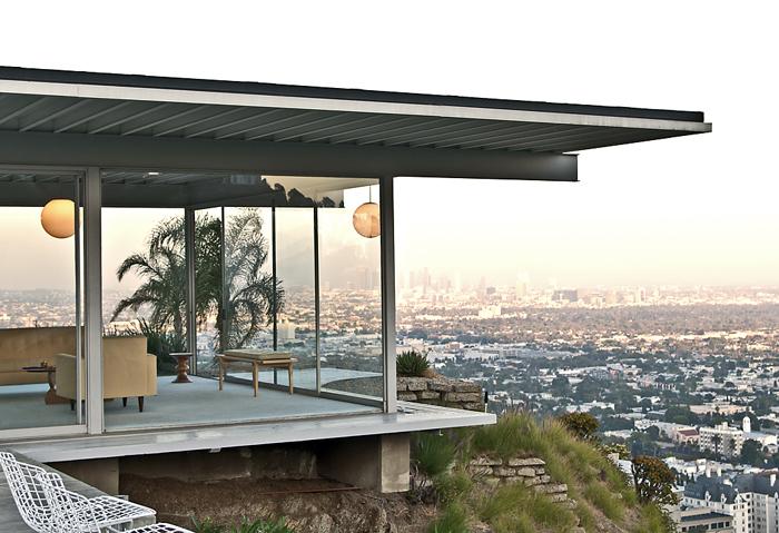 Arquitetura Moderna: imagem da Casa Study House 22