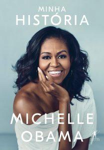 Minha história Michelle Obama capa livro