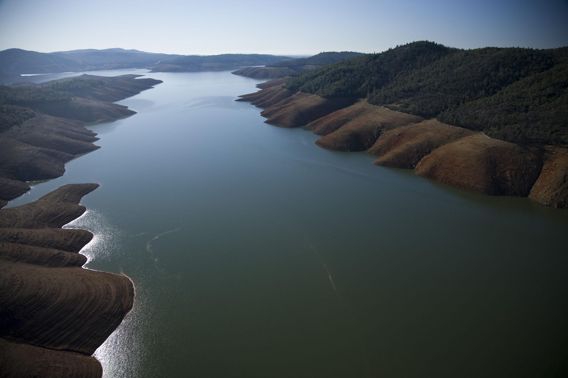 águas subterrâneas na Califórnia, imagem ilustrativa