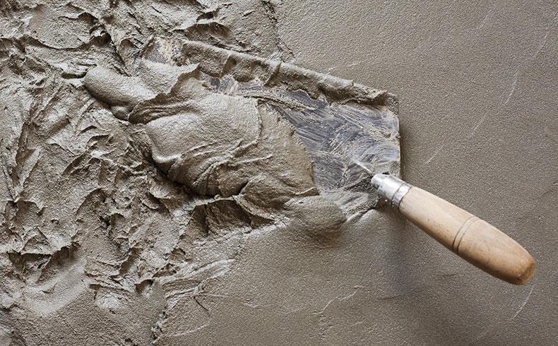 massa de cimento em imagem ilustrativa