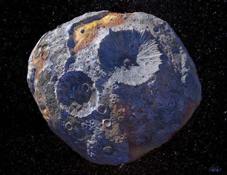 Asteroide com valor estimado em quadrilhões de dólares é observado em novo estudo feito com telescópio Hubble