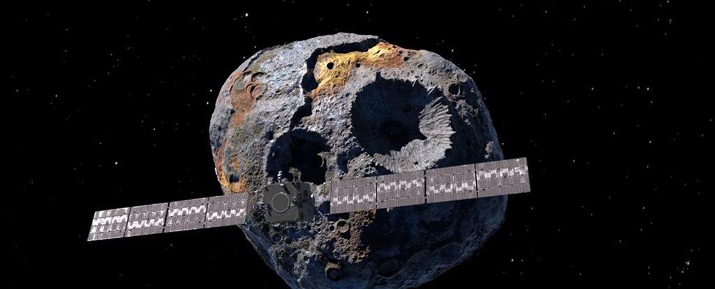 Simulação gráfica da missão da SpaceX