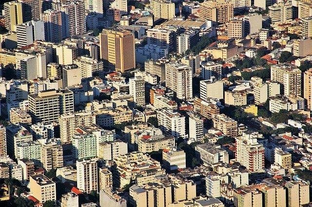 Urbanismo da cidade do Rio de Janeiro em imagem ilustrativa de prédios