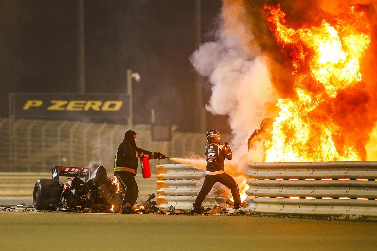 Grosjean saidno do acidente