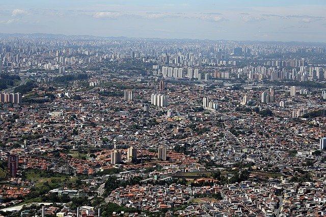 vista área da cidade de são Paulo