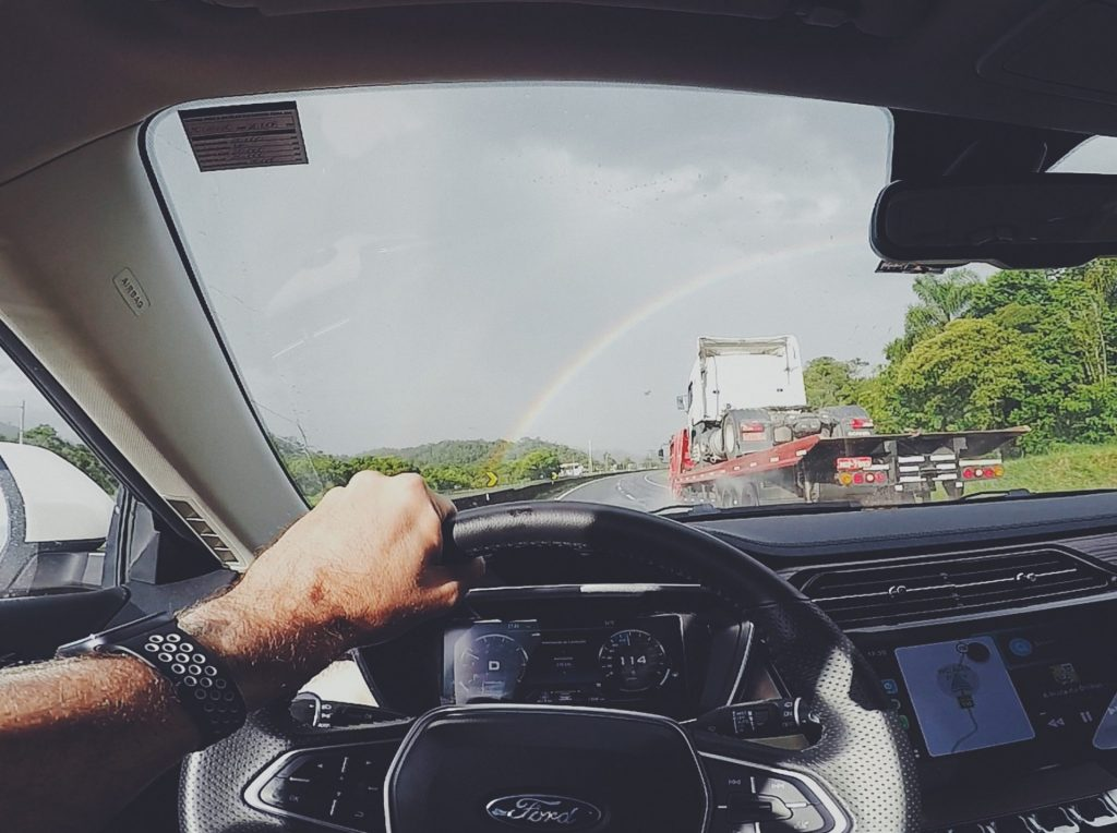 na estrada com Ford Territory