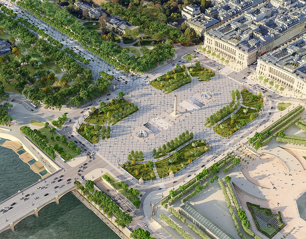 vista da Champs-Élysées