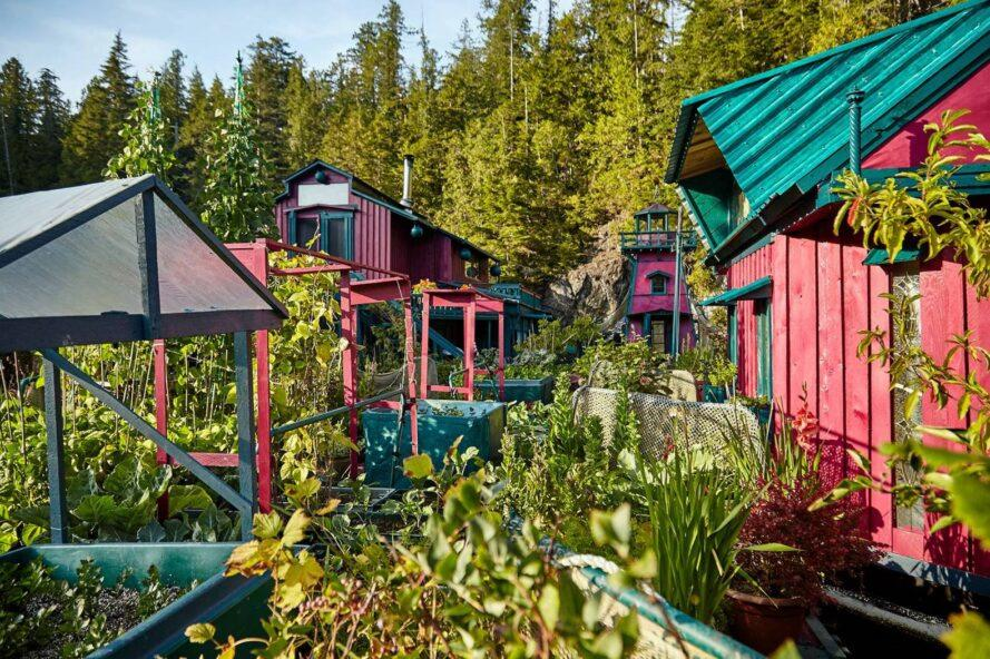 jardim da ilha autossustentável