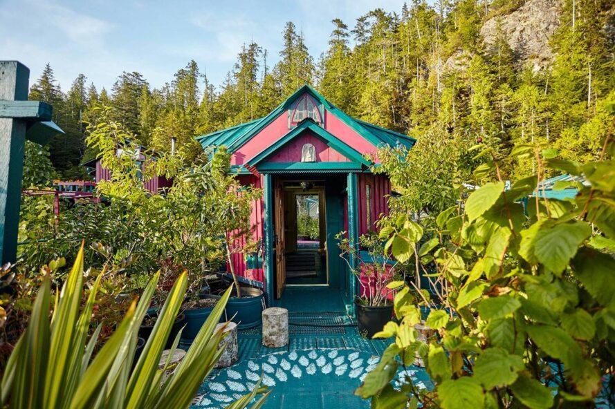 casa na ilha autossustentável