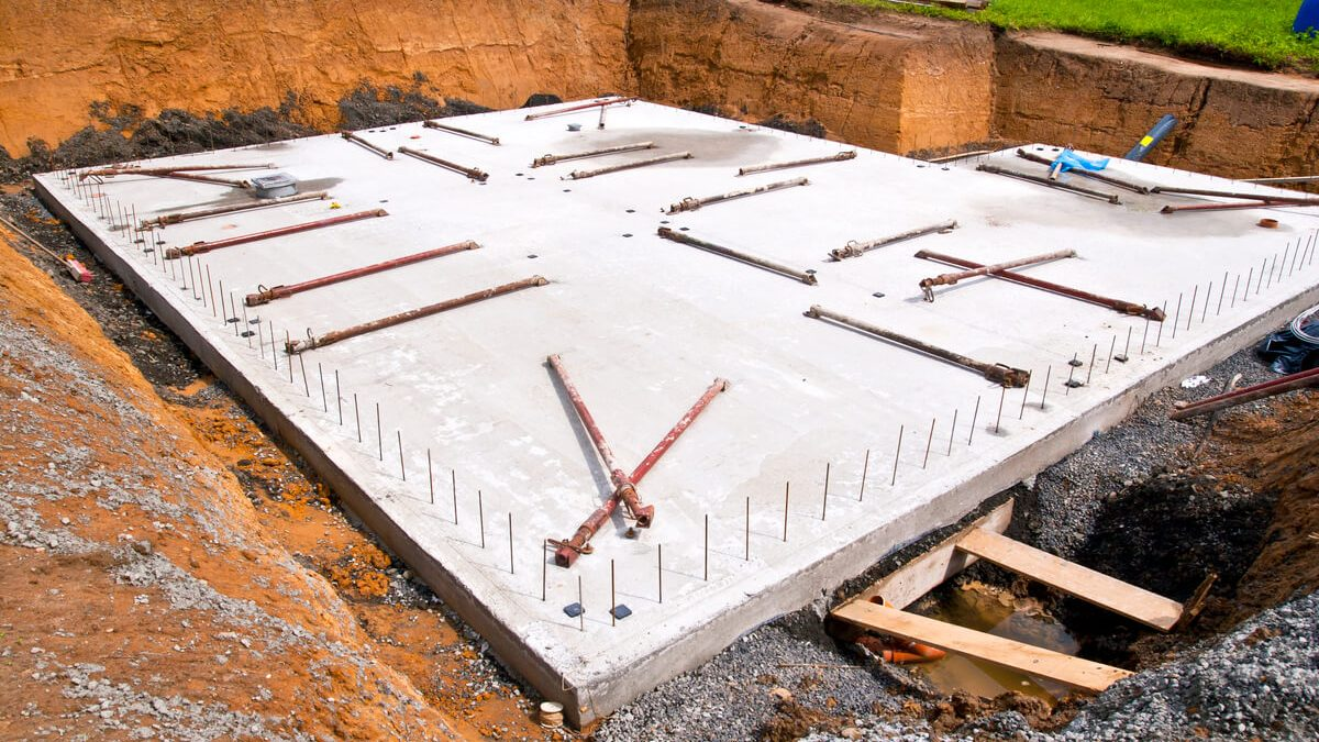 imagem ilustrativa de tipos de fundações