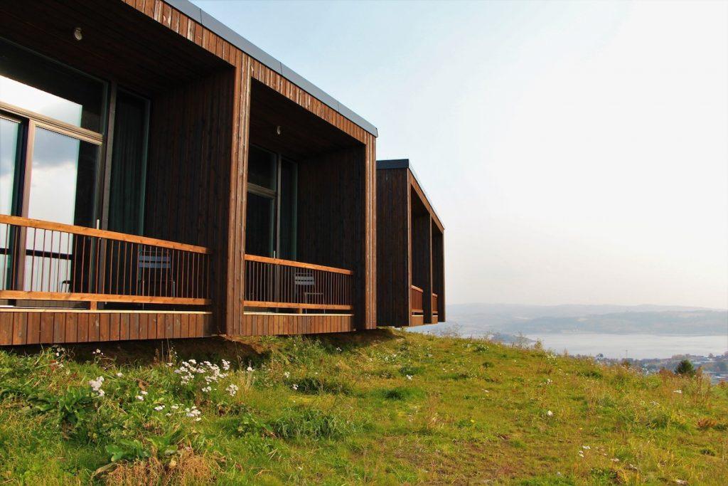 hotel camuflado Øyna Cultural Landscape