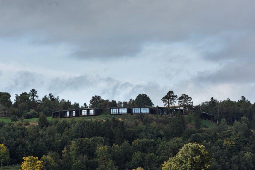 vista frontal do Øyna Cultural Landscape