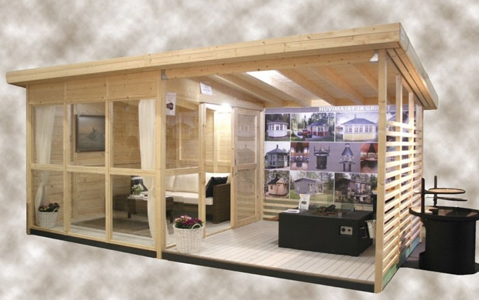 mini casa de quintal que pode ser construída em 8 horas