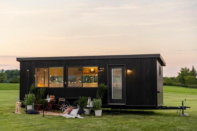mini casa móvel da IKEA