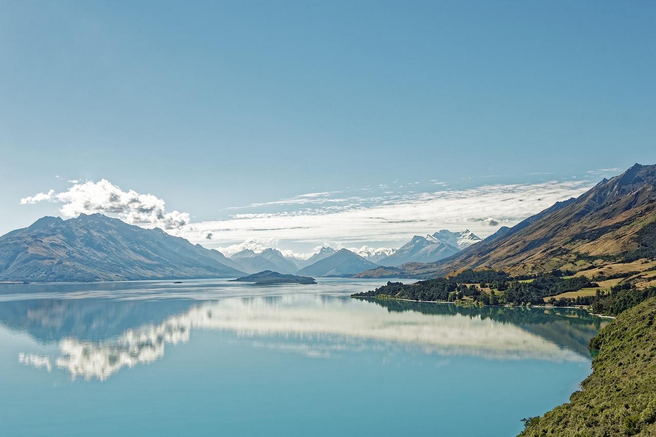 wakatipu lago nova zelandia