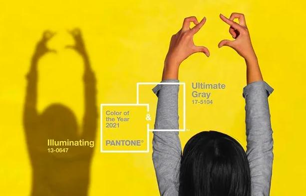 pantone cores do ano amarelo Illuminating